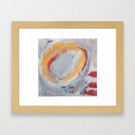 I Am Stardust Series 3.1 Framed Art Print