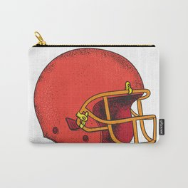 American Football Helmet  Tattoo Carry-All Pouch