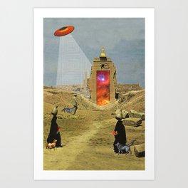 Interdimensional Pilgrimage Art Print