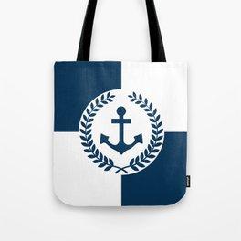 Nautical themed design 2 Tote Bag