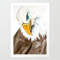 study Art Prints featuring Study by Caballos of Colour