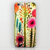 rose iPhone & iPod Skins featuring printemps by sylvie demers