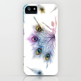 Peacock Dancer iPhone Case