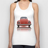 vw Tank Tops featuring VW Beetle by Nove Studio
