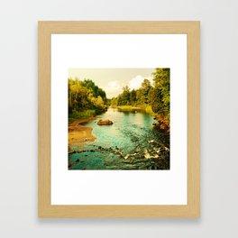 Peaceful Interlude Framed Art Print