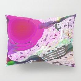Pink Hole Pillow Sham
