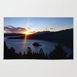 Sunrise at Emerald Bay Rug