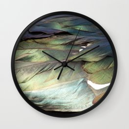 Free Feathers Wall Clock