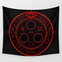 halo Wall Tapestries featuring Halo of the Sun by Elisa FS