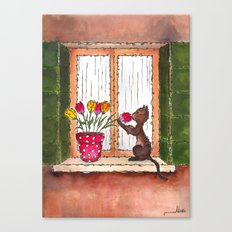 Smells of Spring Canvas Print