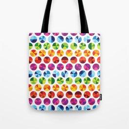 Colour Wheel Tote Bag