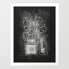 Lesson 2: Let's make some noise Art Print