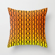 Gold and Chains - Vivido Series  Throw Pillow