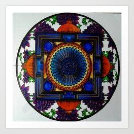 spiritual mandala Art Print