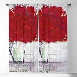 A Bouquet Of Flowers No.6f by Kathy Morton Stanion Blackout Curtain