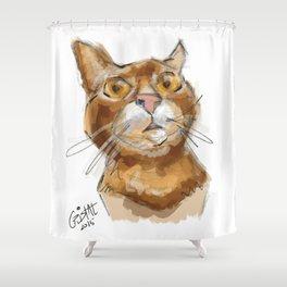 Ginger Dali Shower Curtain