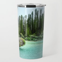 In the wilderness - Natural lagoon at Isle of Pines, New Caledonia Travel Mug