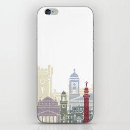 Trieste skyline poster iPhone Skin