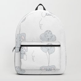 Elephants with Balloons Backpack