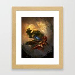 RuneQuest 6 Cover Framed Art Print