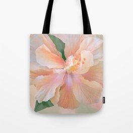 PEACH HIBISCUS-II Tote Bag