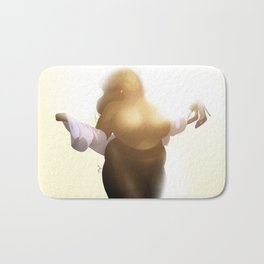 BBW Pin Up - Ebony Bath Mat