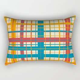 Plaid pattern Rectangular Pillow