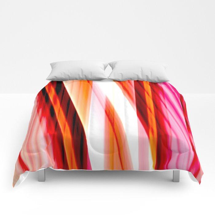 red input Comforters