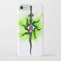 dragon age inquisition iPhone & iPod Cases featuring Dragon Age Inquisition - Inquisitor Symbol by Salzburn Designs Shop
