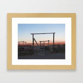 Ranch Framed Art Print