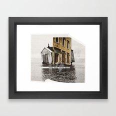 inclination Framed Art Print