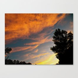 Georgia Sunset Canvas Print