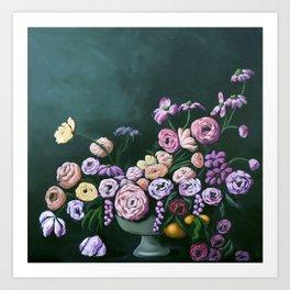 Blooming Bunch Art Print