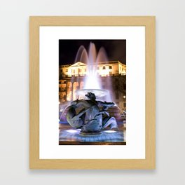 Trafalgar Square, London Framed Art Print
