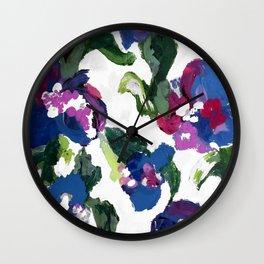 In Bloom (Flower Variation 3) Wall Clock