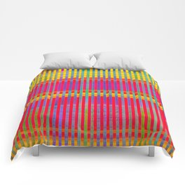 Popsicle Stripes Comforters
