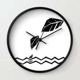 Meraki Fall [Oxy Ivren] Wall Clock