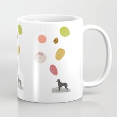the thinking dog Mug