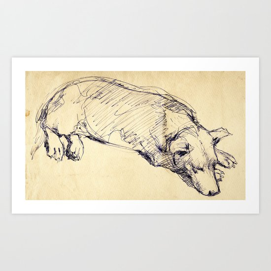 Sketch#2 Art Print