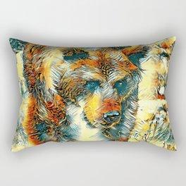 AnimalArt_Bear_20170603_by_JAMColorsSpecial Rectangular Pillow