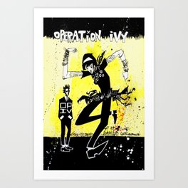 OPERATION IVY Art Print
