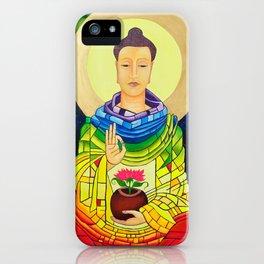 Rainbow Buddha iPhone Case