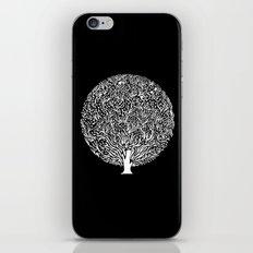 Black and White Tree iPhone & iPod Skin