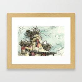 Camino de Santiago - Villar de Mazarife Framed Art Print