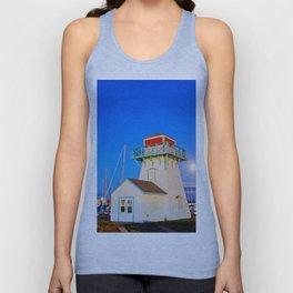 Summerside Harbour lighthouse Unisex Tank Top