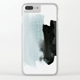 minimalism 4 Clear iPhone Case