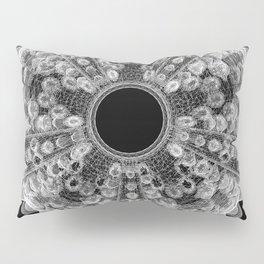 GEOMETRIC NATURE: SEA URCHIN b/w Pillow Sham