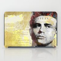 actor iPad Cases featuring James D. by Ganech joe