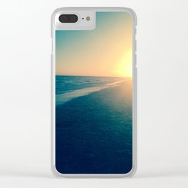 The calm on Sanibel Clear iPhone Case