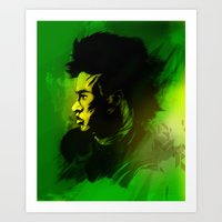 neymar Art Prints featuring Neymar J.r by drasik